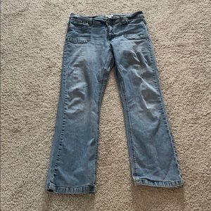 Cato Jeans Stonewashed Flared Ankle